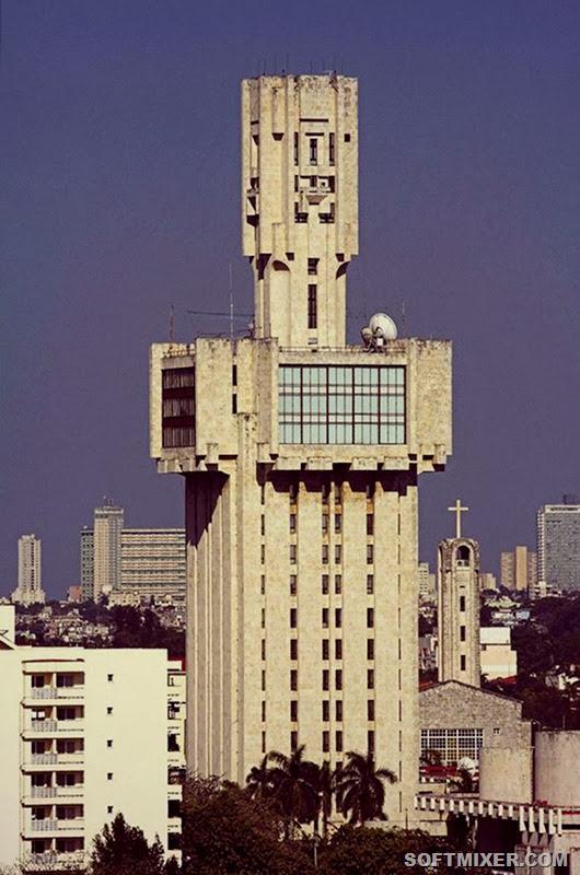 Самые оригинальные здания советской архитектуры