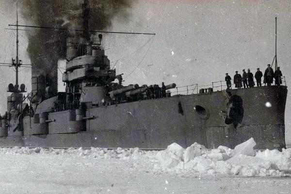 «Ледовый поход» Балтийского флота