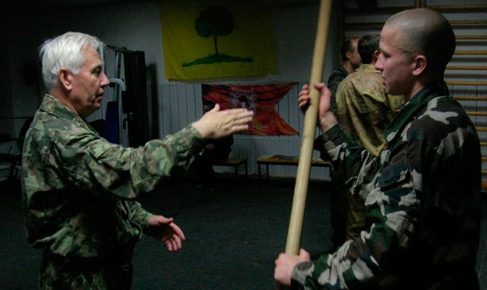 Алексей Кадочников - автор уникального способа рукопашного боя