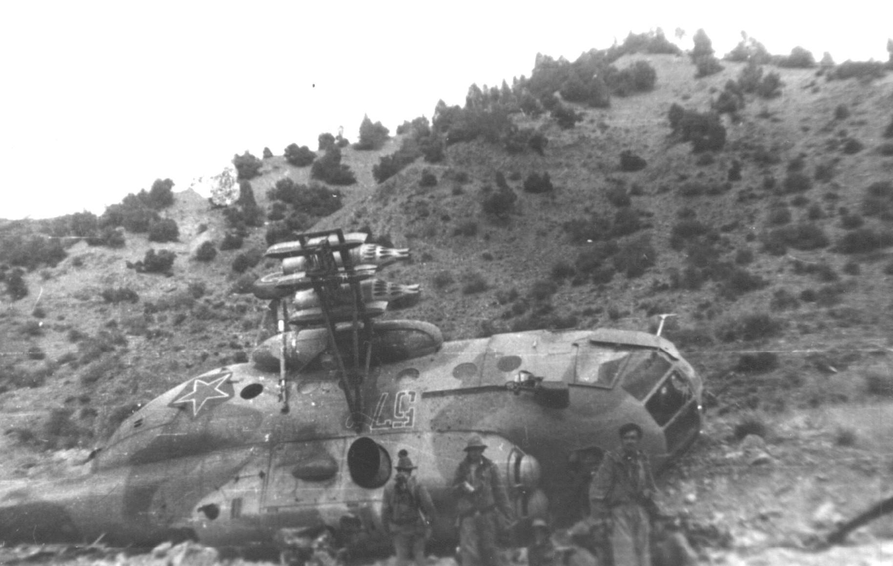 Вертолеты в афганской войне