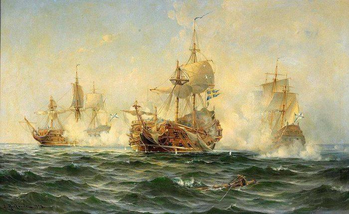 Разгром шведов в Эзельском сражении