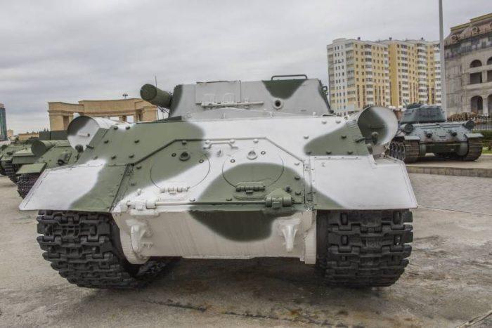 ИСУ-122: трудный путь фронтовика
