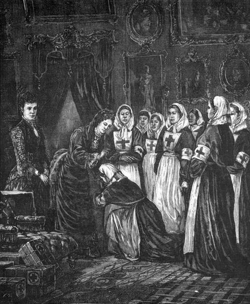 Императрица Мария Александровна – основательница Красного Креста