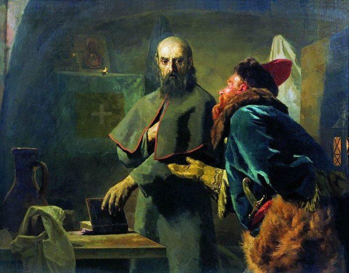 Избранный царь Борис Годунов