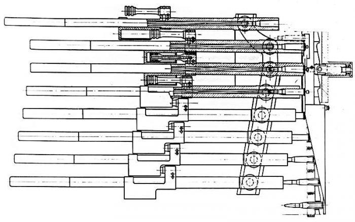Многоствольные пулемёты системы И.И. Слостина