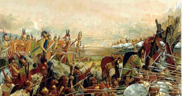 «После этой битвы началось всемирное владычество римлян»