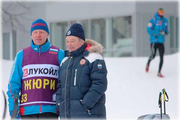 Вячеслав Веденин – выдающийся лыжник