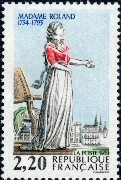 Мадам Ролан: под нож гильотины вместо нелюбимого мужа