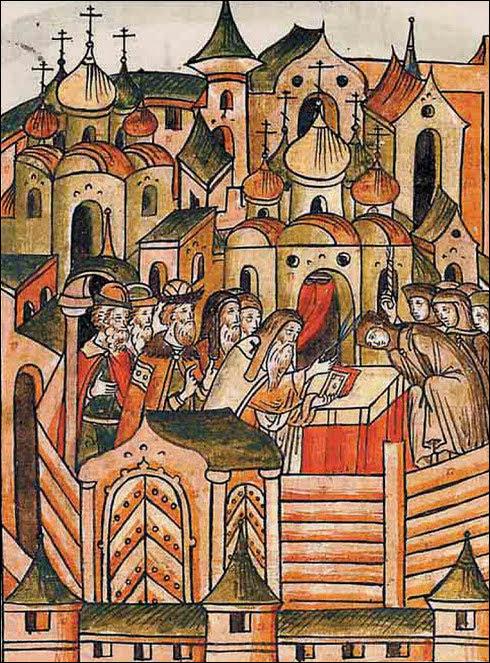 Елена Глинская на московском престоле