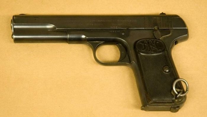 Первый российский самозарядный пистолет