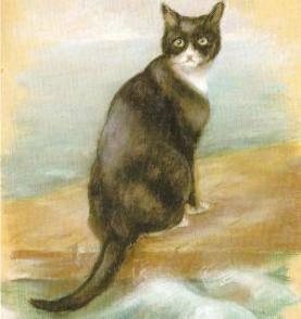 Непотопляемый Сэм – кот, переживший три кораблекрушения