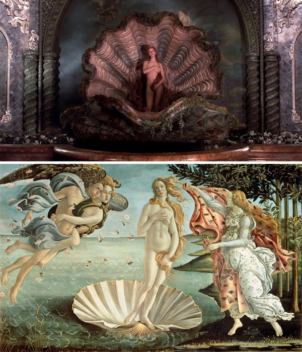 Сцены из кинофильмов, вдохновлённые картинами великих художников