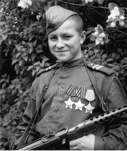 17-летний полный кавалер ордена Славы