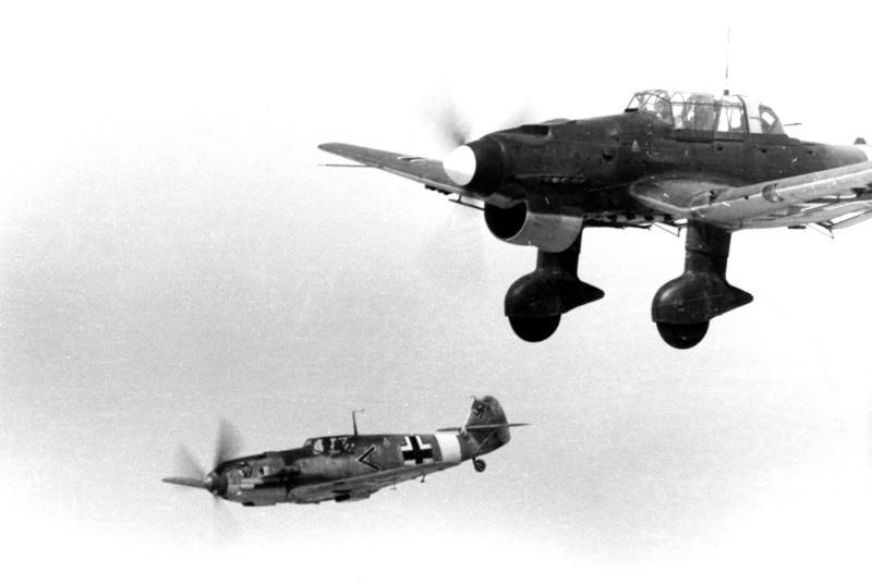 Немцам о господстве в воздухе пришлось забыть...