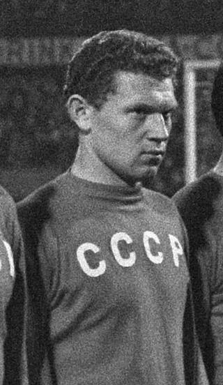 Первый советский футболист забивший гол бразильцам
